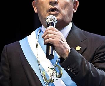 Otto Pérez Molina, Pdte de Guatemala