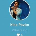 Kike Pavon, dijo: Intentando adaptarme a lo rápido que va la tecnología 😅 puedes seguirme en #Periscope